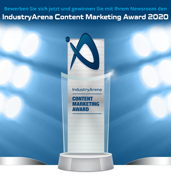 IndustryArena Content Marketing Award 2020
