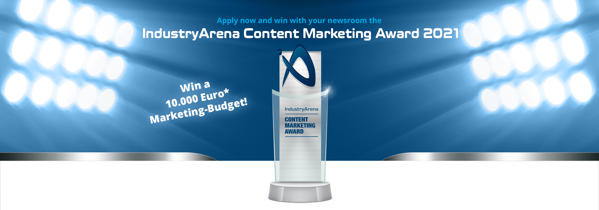 IndustryArena Content Marketing Award 2021