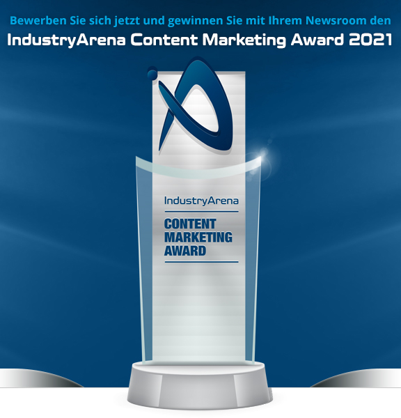 IndustryArena Content Marketing Award 2021