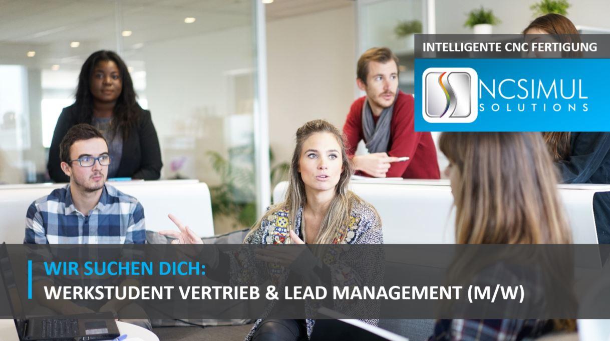Werkstudent Vertrieb & Lead Management (m/w) am Standort Böblingen