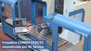 ¿Quieres ver como ha quedado esta fresadora CORREA CF25/25 tras su reconstrucción en NC Service?