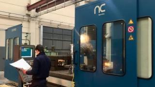 Fresadora CORREA L30/43: total reconstrucción por NC Service
