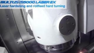 MULTUS U5000 LASER EX Laser Hardening and rollFEED® Turning