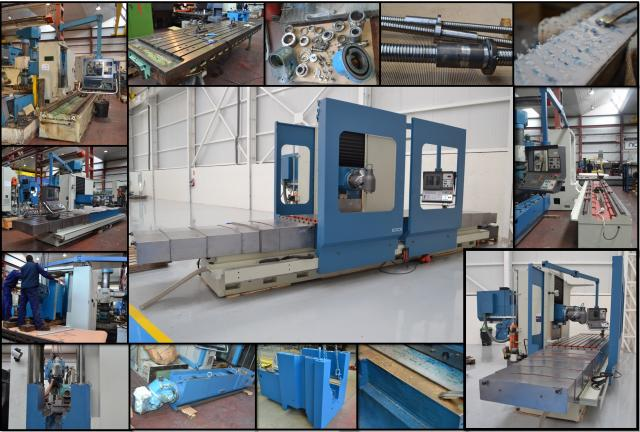 Extending the useful life of your CORREA milling machine? Count on Nicolás Correa Service!