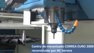 Nicolás Correa Service reconstruye otro CORREA EURO 2000