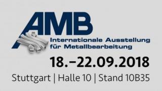 Besuchen Sie uns auf der AMB 2018