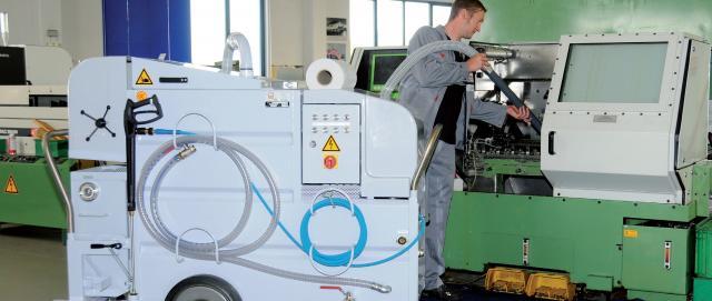Schnelle und professionelle Maschinen- und Anlagenreinigung