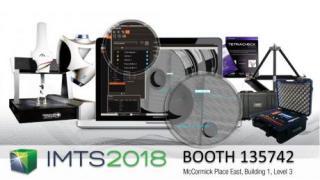 M3 Hybrid: Descubre la solución de Metrología Digital en la IMTS 2018 de Chicago.