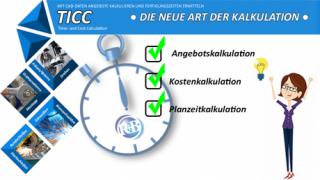TICC – für mehr Produktivität und Preissicherheit in der Kalkulation