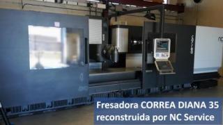 ¡Venta de la fresadora CORREA Diana35 en Suecia! NC Service
