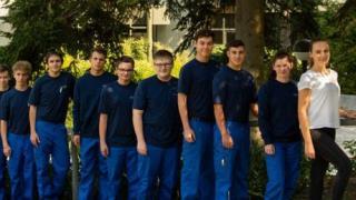 Die Karriereleiter beginnt bei WALDRICH COBURG