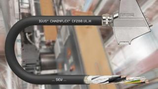 Schneller Antrieb zum kleinen Preis: Neue igus Leitung für SEW und Siemens Motoren