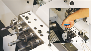BIG KAISER offers world's first hydraulic chuck for Swiss-type automatic lathes