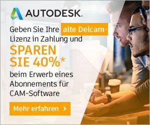 Alte Delcam-Lizenz? Jetzt eintauschen und 40 %* sparen!