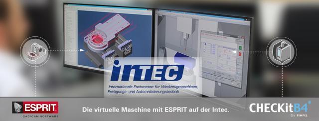 Die virtuelle Maschine mit ESPRIT auf der Intec 2019