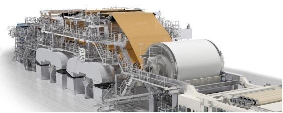 Schmiersysteme von INTZA in der Papierindustrie