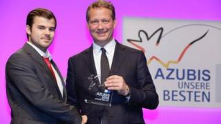 Bundesbester Industriemechaniker: Auszeichnung für CeramTec Auszubildenden Nico Groß