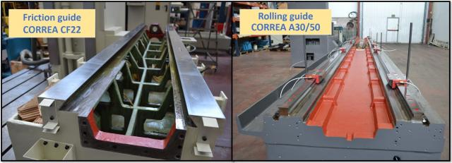 Do you know there are two types of guides for milling machines? NC Service shows it to you.