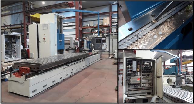 Aufbereitung der Fräsmaschine CORREA A30/40 durch Nicolas Correa Service!