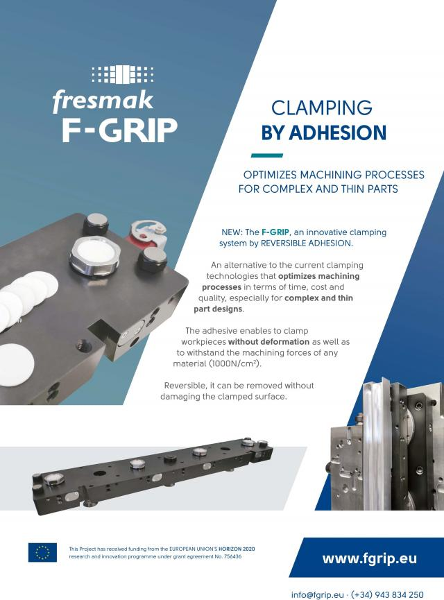 F-GRIP, a new clamping solution fitting the aerospace sector needs