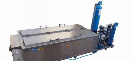 Ultraschallreinigungssystem für die Druckindustrie