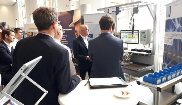 DE group auf der Production Systems 2019