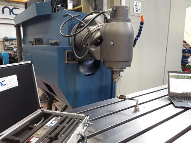So wird in nur 3 Schritten die Genauigkeit einer CNC-Maschine überprüft