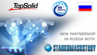 New partnership in Russia with Stankomashtroy