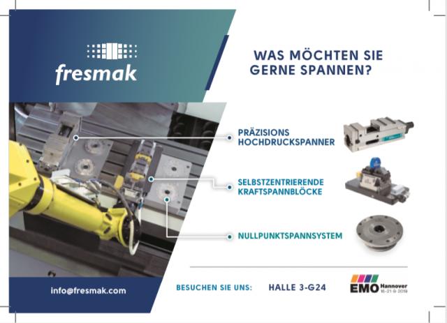 Fresmak auf der EMO Hannover 2019