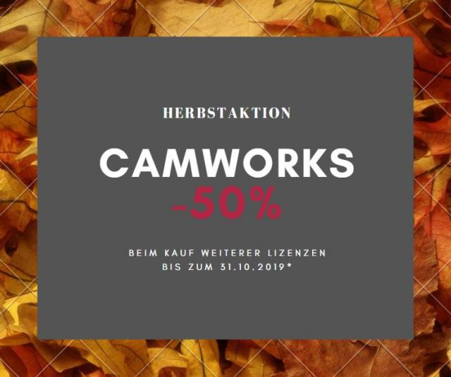 CAMWorks Herbstaktion!