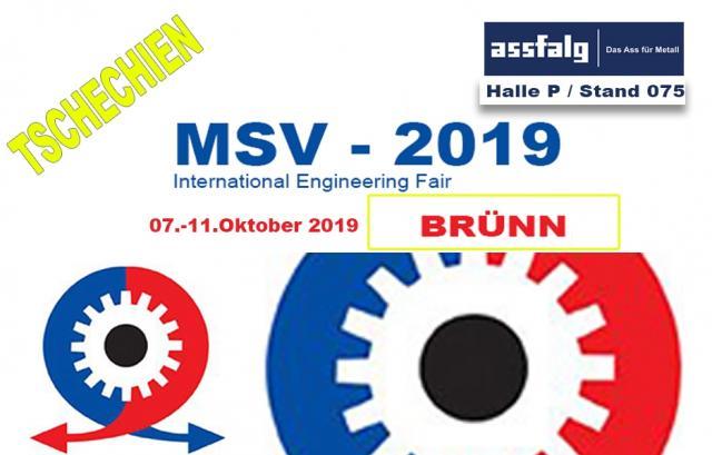 MSV Internationale Maschinenbaumesse