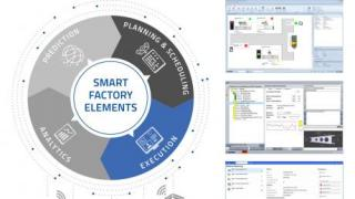 "Manufacturing Execution - Building block in the ""Smart Factory Elements"" model"