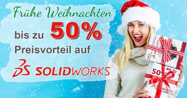 SOLIDWORKS Aktion: bis zu 50% Preisvorteile!