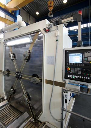 SPX 5207 6-Spindle Deep-Hole Drill Machining Center