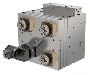 Multi-spindle heads for machining centers (machine tooling technology)