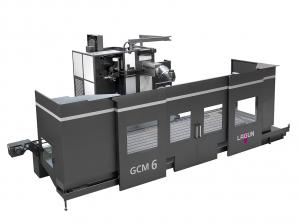 Single column milling machine for long workpieces