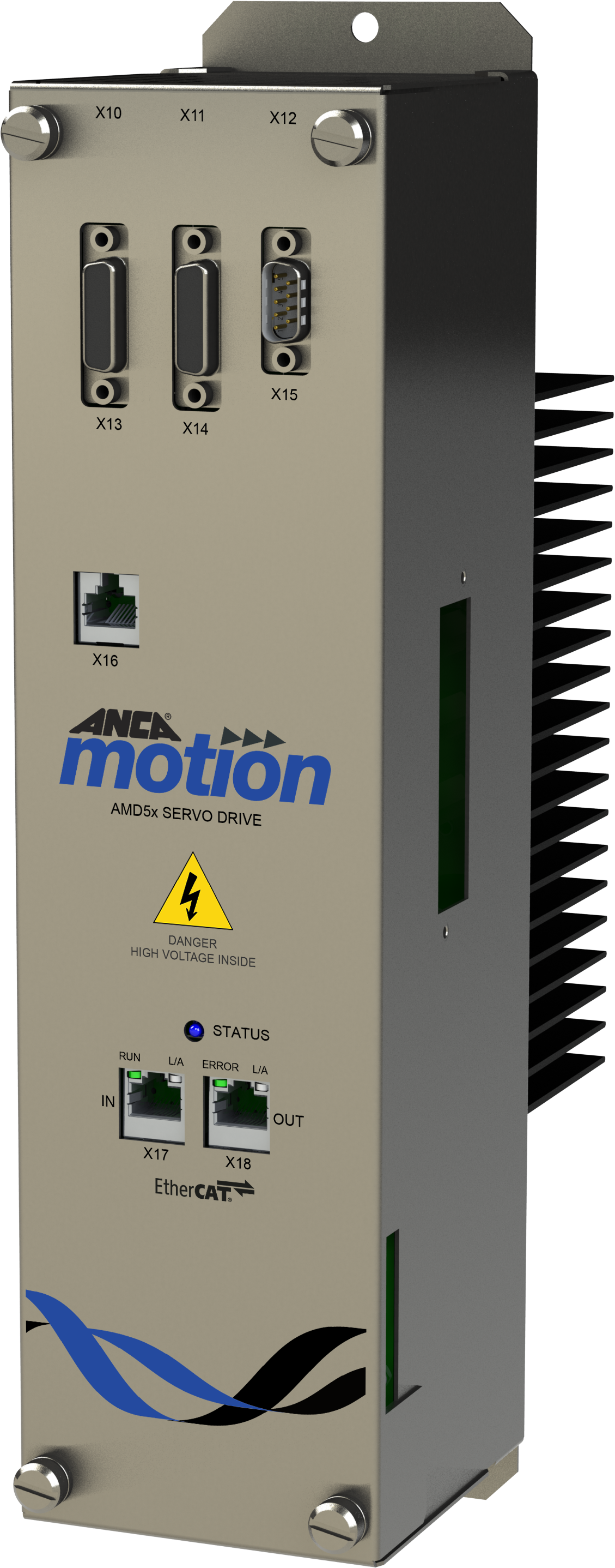 AMD5x Servo Drive and Infeed Unit - ANCA Motion