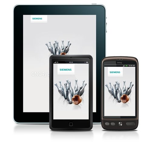 CNC4you-Apps von Siemens