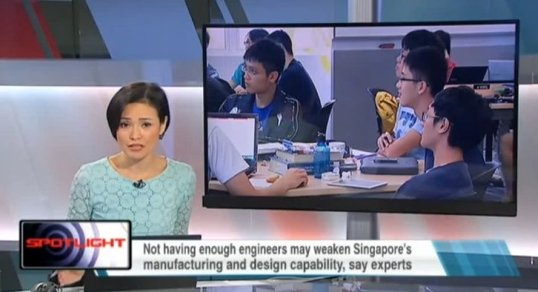 EROWA on Channel News Asia