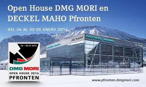Open House DMG MORI en DECKEL MAHO Pfronten