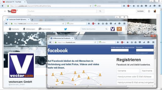 vectorcam in social networks