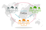 FMEA connected by PLATO e1ns technology