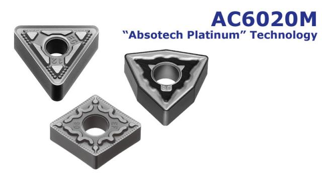 Tooling News: AC6020M - Coated grade for stainless steel turning