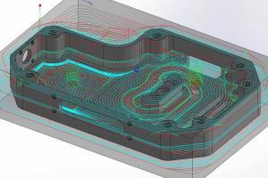 iMachining 3D für prismatische Teile
