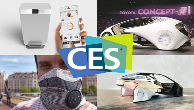 Air filtering scarfs and AI cars: The best green innovations of CES 2017
