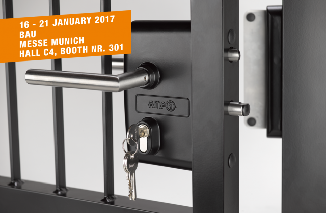AMF at BAU in Munich, 16 - 21 January 2017