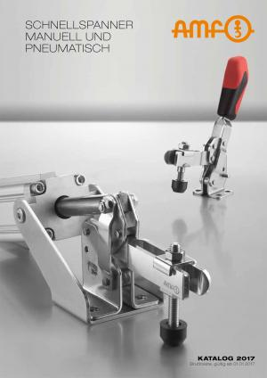 TOGGLE CLAMPS MANUAL AND PNEUMATIC