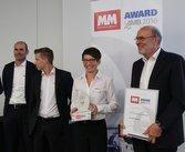 «MM Award» para el mandril de corona TOPlus inteligente
