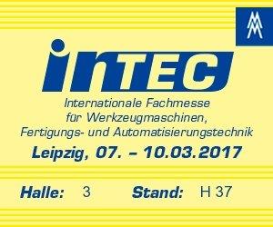 DSW DasSpindelWerk asistirá a la feria INTEC 2017, en Leipzig