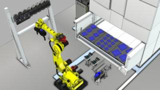 System enables long periods of unmanned operation for small batch production